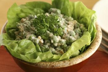 Cashew Pea Salad=