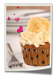 Banana Bread Cupcake