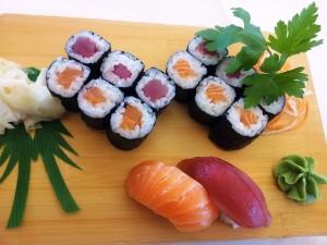 Sushi, Fish, Asia